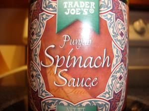 TJ's Punjab Spinach Sauce