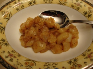 Turnips Braised in Butter