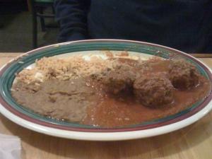 Albandigas en Salsa Chipotle