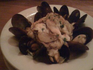Roasted Mussels