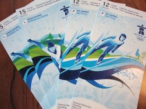 Olympics Tix - Hooray!