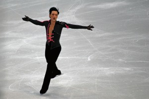 Johnny Weir at the Olympics