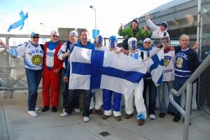 Finland's Hockey Fans - SUOMI!