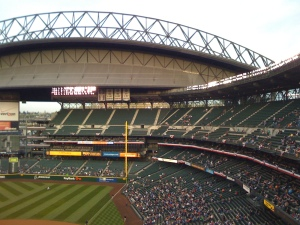 Safeco Field, View From My Phone