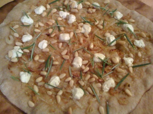 Carmelized Onion Pizza
