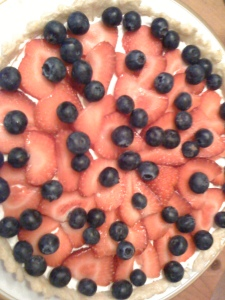 Strawberry and Blueberry Tart