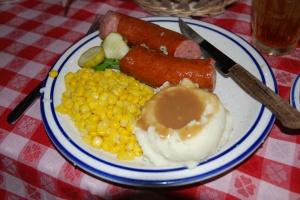 Sausage Lunch at Nashville House