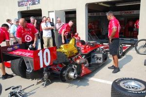 Pre-race Garage Work