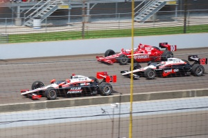 The Starting 3 In Position at the Indy 500