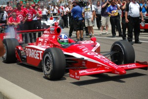 Dario Franchitti in Winning No. 10