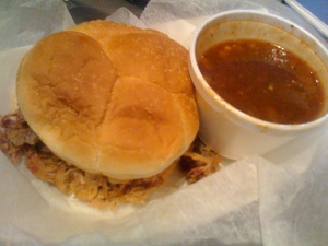 Pulled Pork and Baked Beans