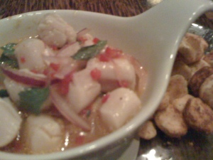 Sweet Cortez Bay Scallop Ceviche