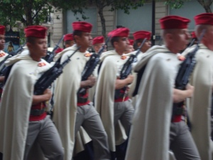 Bastille Day Parade in Paris