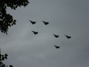 Bastille Day Flyovers