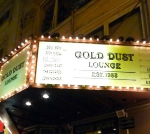 The Gold Dust Lounge